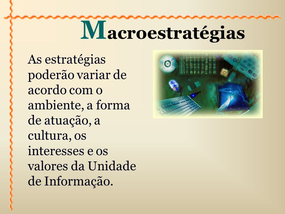 Macroestratégias