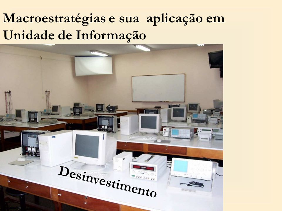 Macroestratégias e sua aplicação em Unidade de Informação