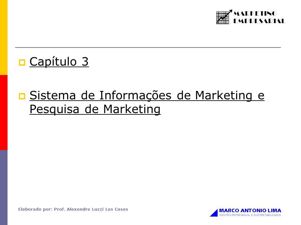 Sistema de Informações de Marketing e Pesquisa de Marketing