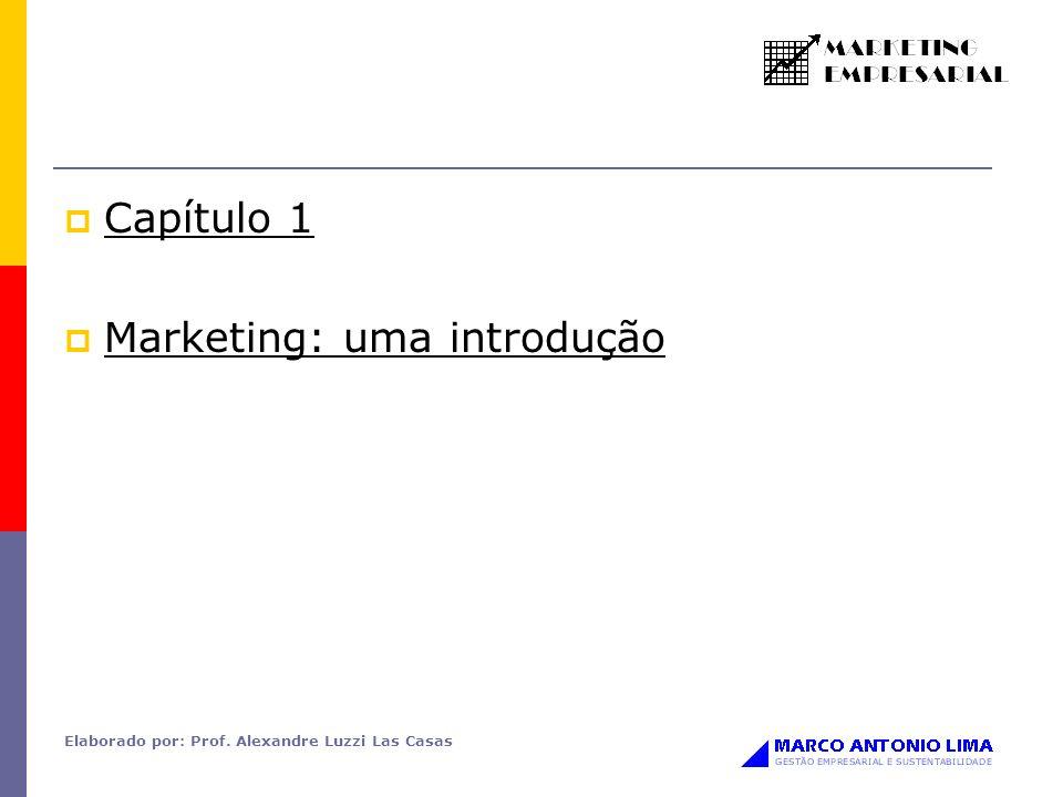 Marketing: uma introdução