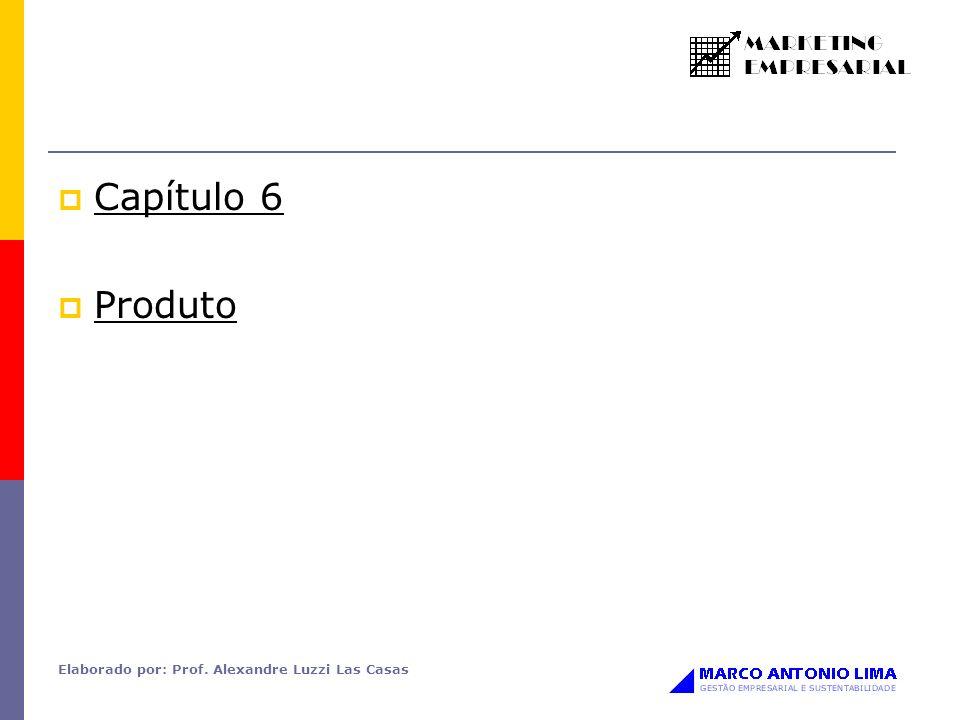 Capítulo 6 Produto Elaborado por: Prof. Alexandre Luzzi Las Casas