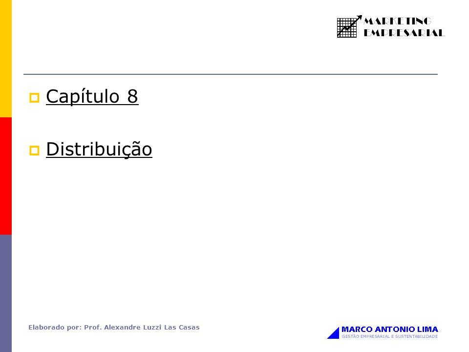 Capítulo 8 Distribuição Elaborado por: Prof. Alexandre Luzzi Las Casas