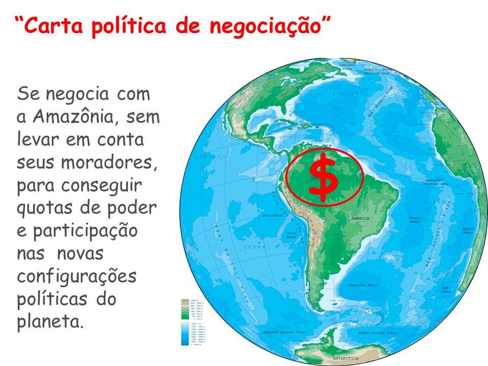 $ Carta política de negociação