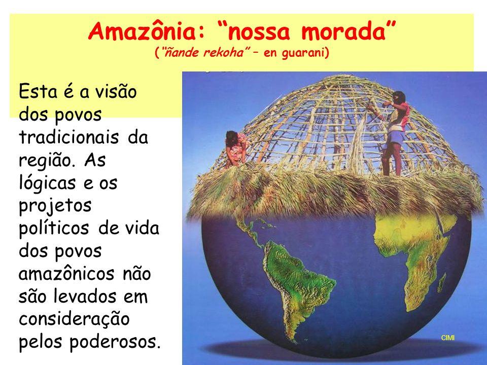 Amazônia: nossa morada ( ñande rekoha – en guarani)