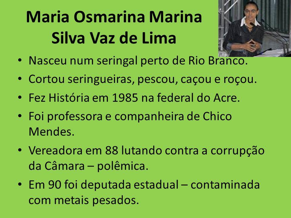 Maria Osmarina Marina Silva Vaz de Lima