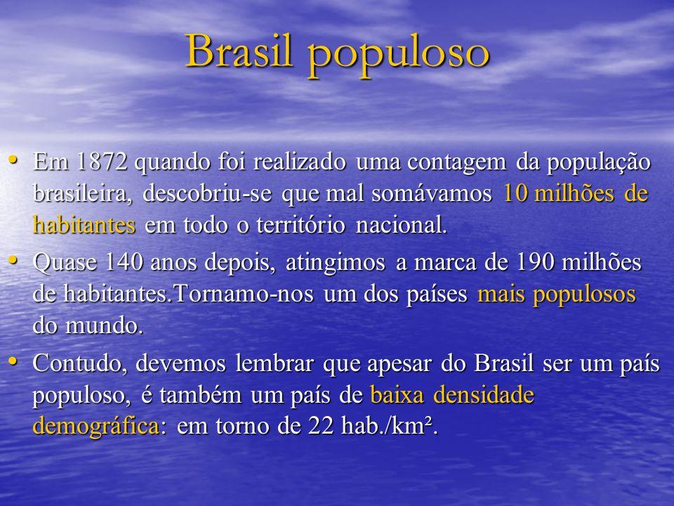 Brasil populoso