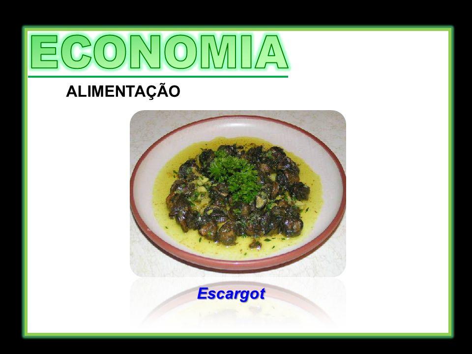 ECONOMIA ALIMENTAÇÃO Escargot