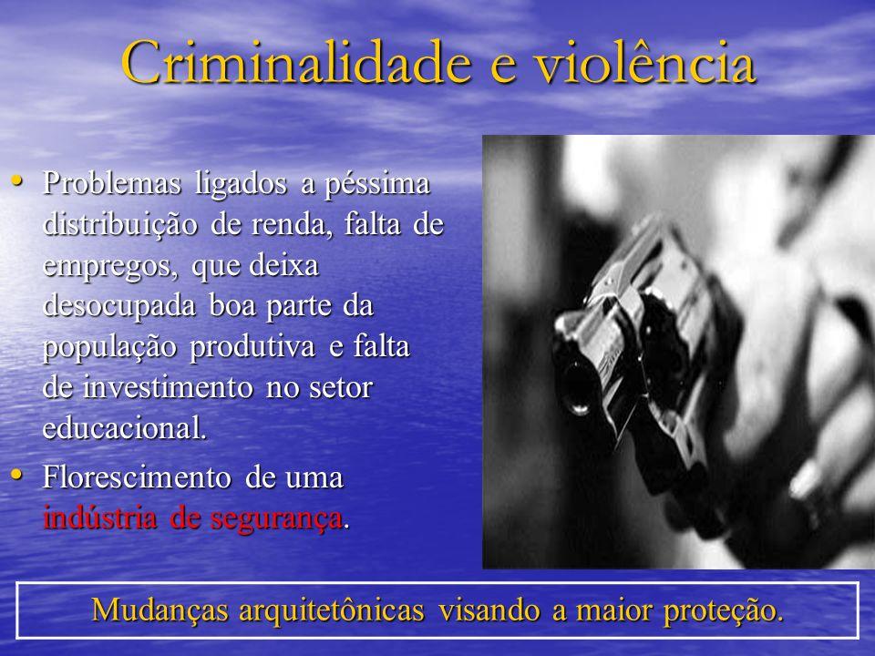Criminalidade e violência