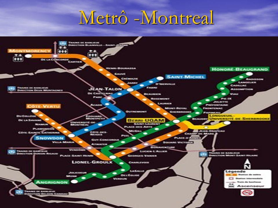 Metrô -Montreal