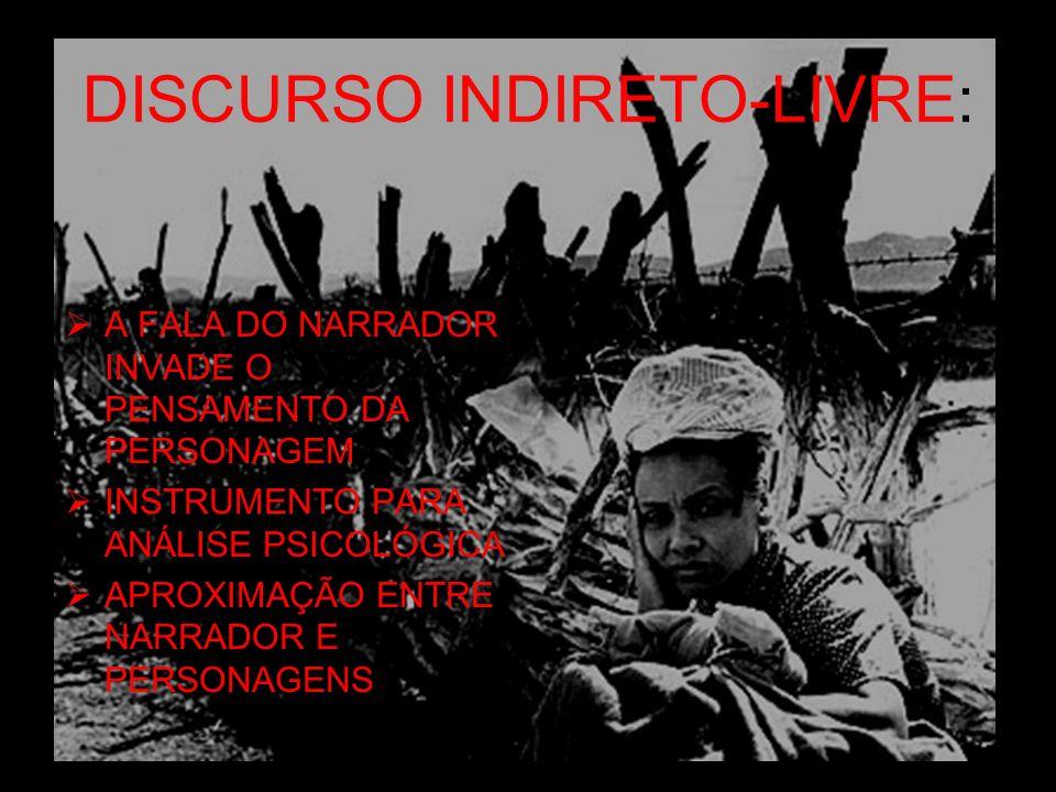 DISCURSO INDIRETO-LIVRE: