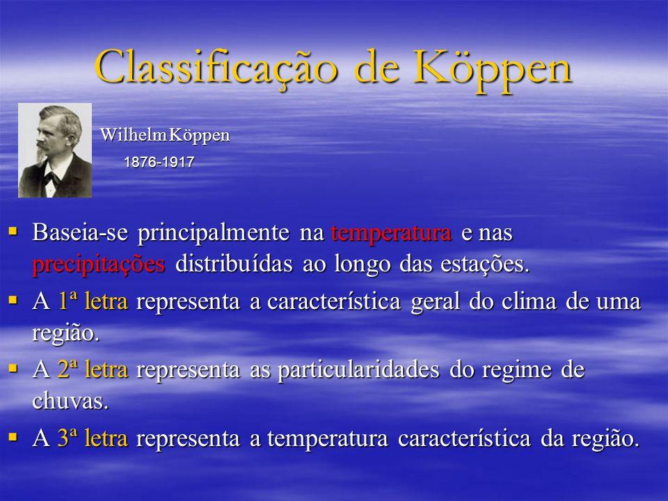 Classificação de Köppen