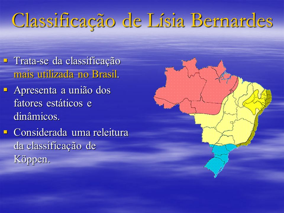 Classificação de Lísia Bernardes