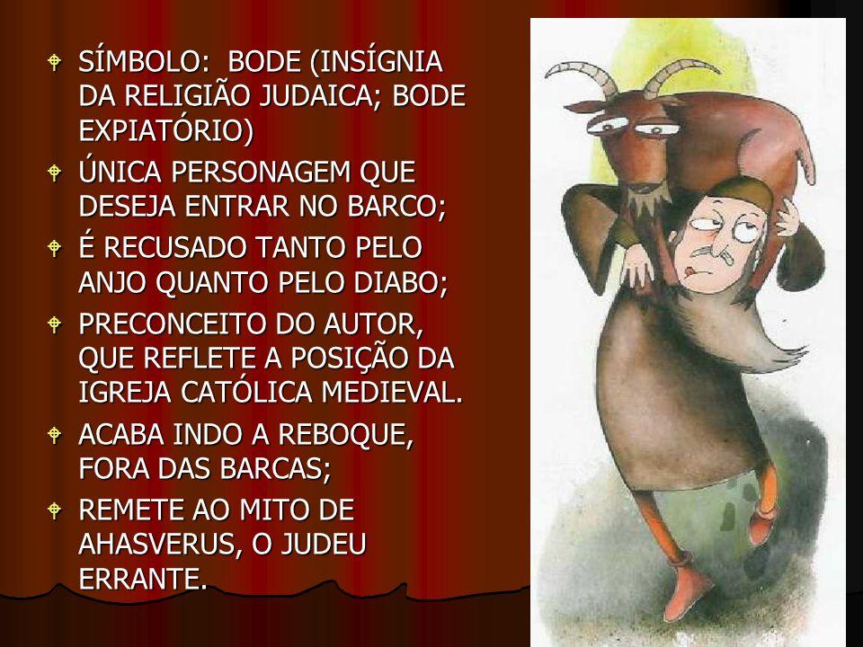SÍMBOLO: BODE (INSÍGNIA DA RELIGIÃO JUDAICA; BODE EXPIATÓRIO)