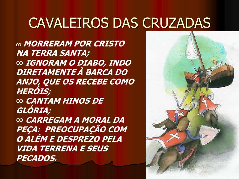 CAVALEIROS DAS CRUZADAS