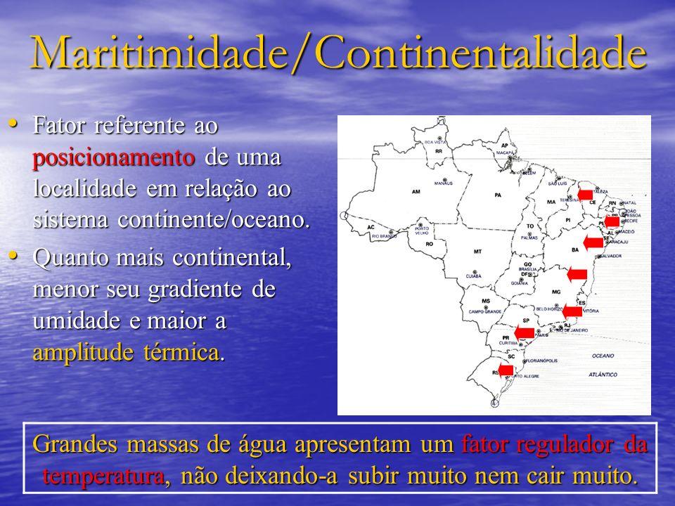 Maritimidade/Continentalidade
