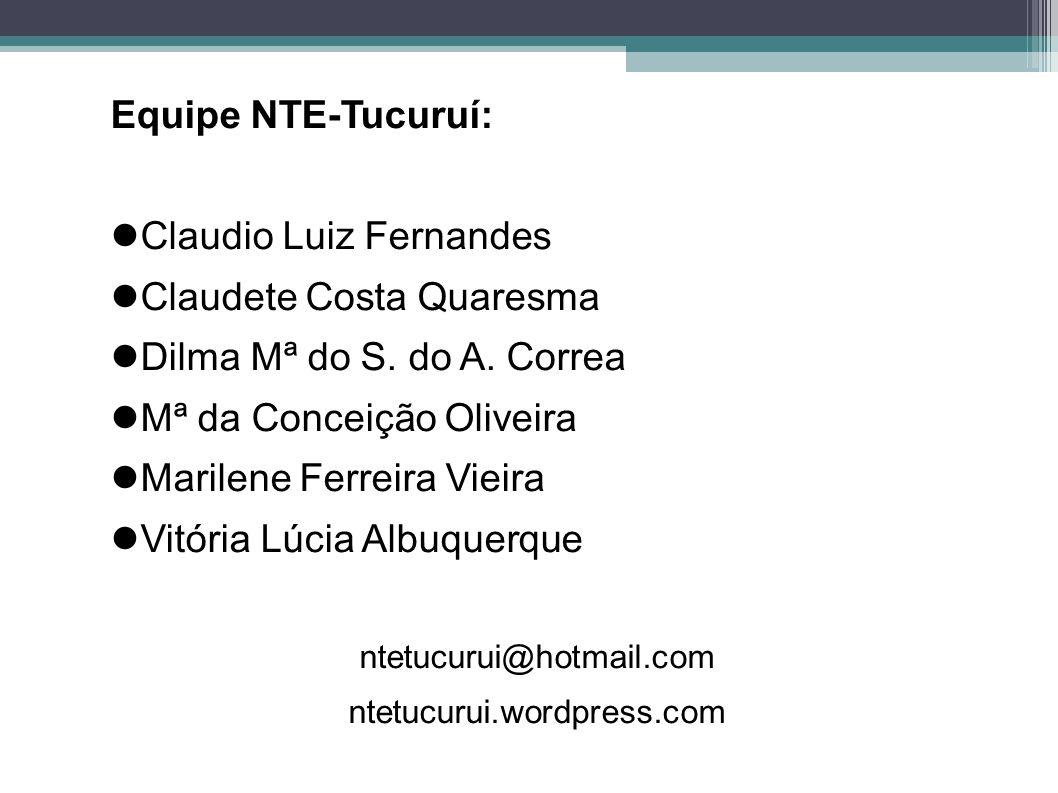 Claudio Luiz Fernandes Claudete Costa Quaresma