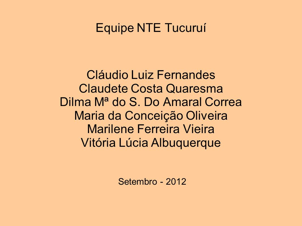 Cláudio Luiz Fernandes Claudete Costa Quaresma