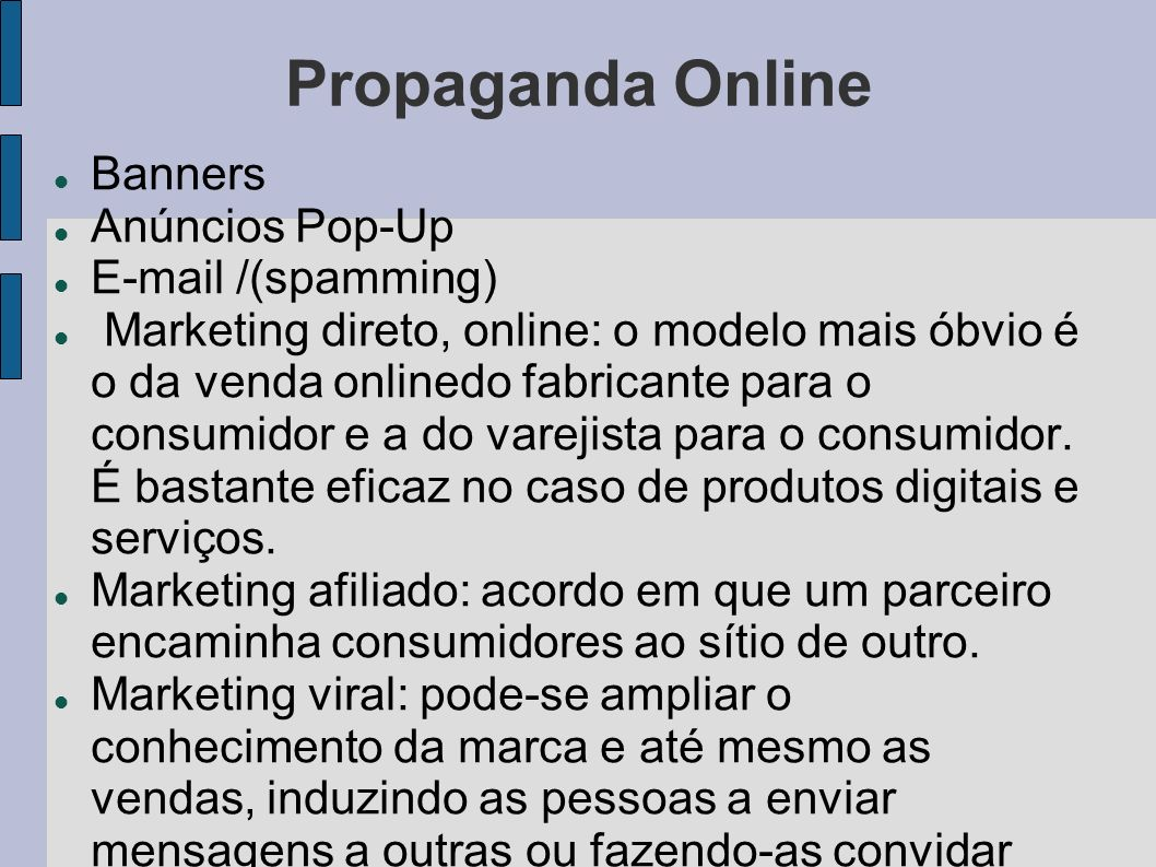 Propaganda Online Banners Anúncios Pop-Up E-mail /(spamming)