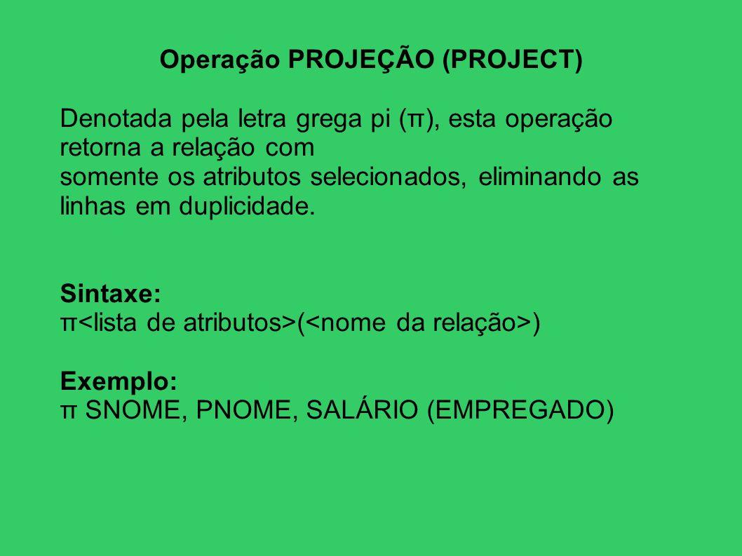 Operação PROJEÇÃO (PROJECT)