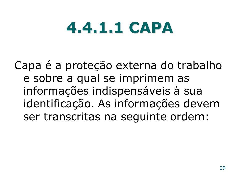 4.4.1.1 CAPA