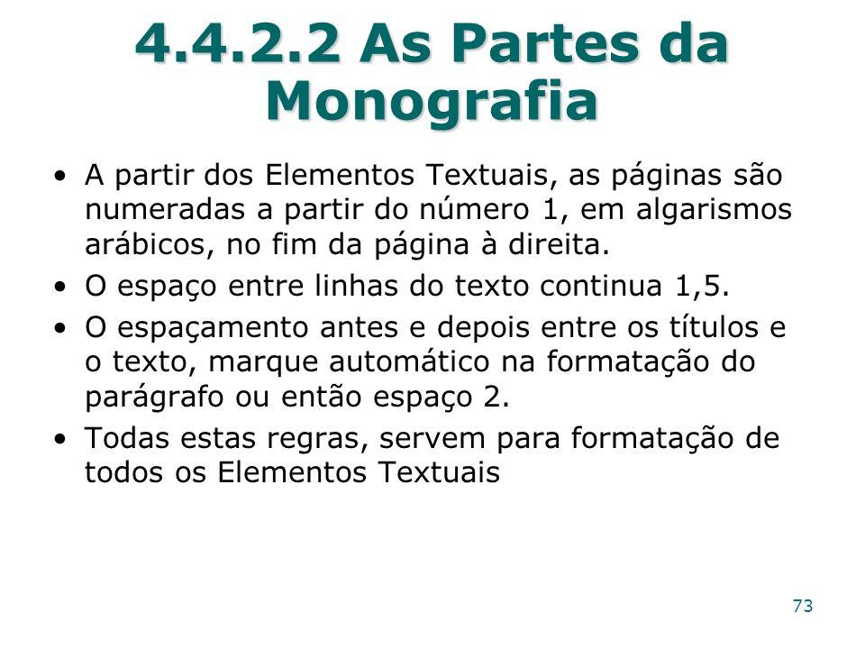 4.4.2.2 As Partes da Monografia