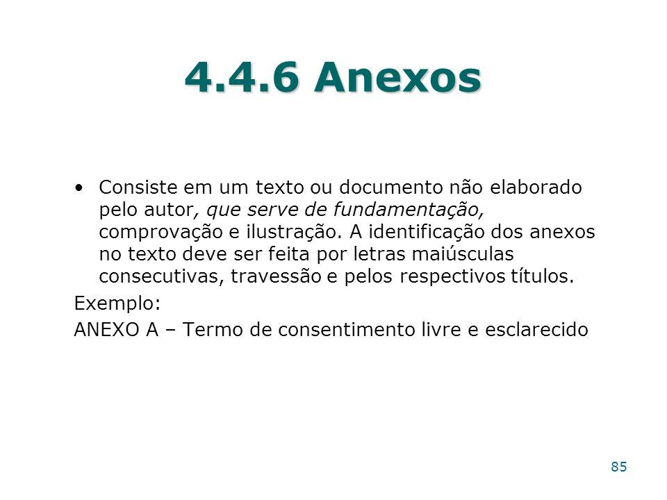 4.4.6 Anexos