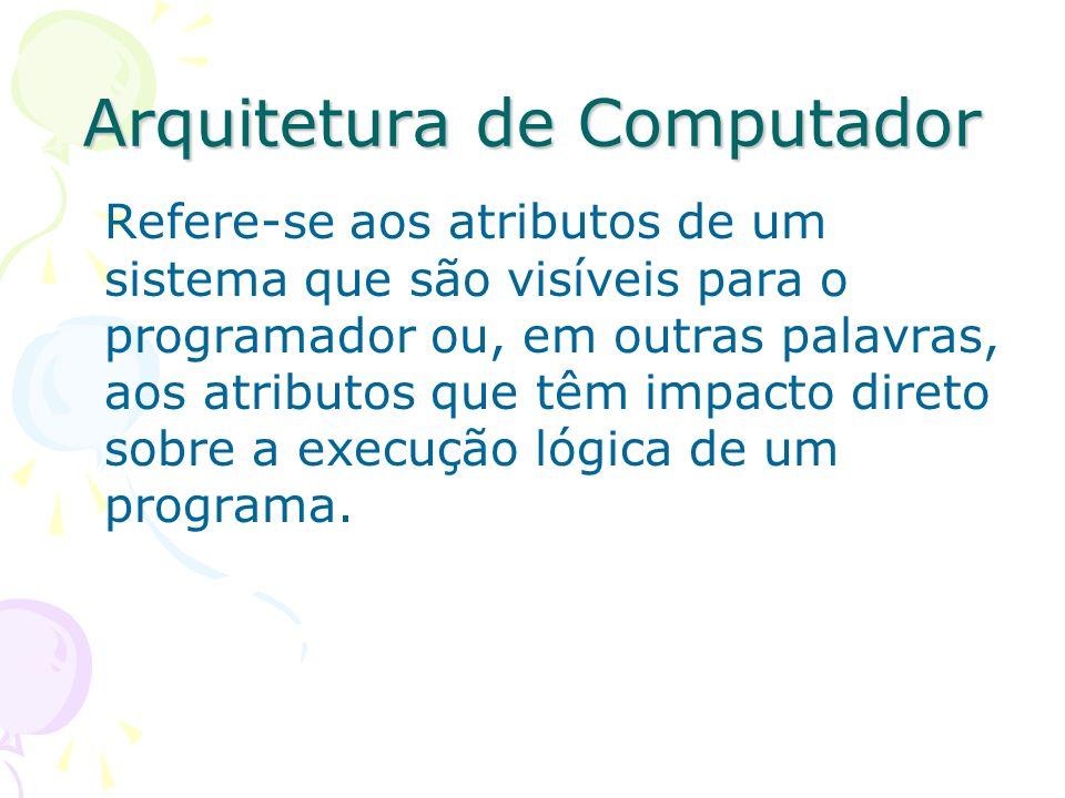 Arquitetura de Computador