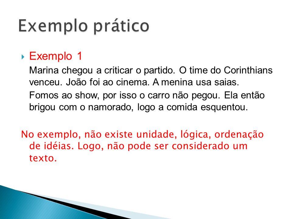 Exemplo prático Exemplo 1