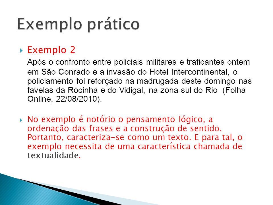 Exemplo prático Exemplo 2