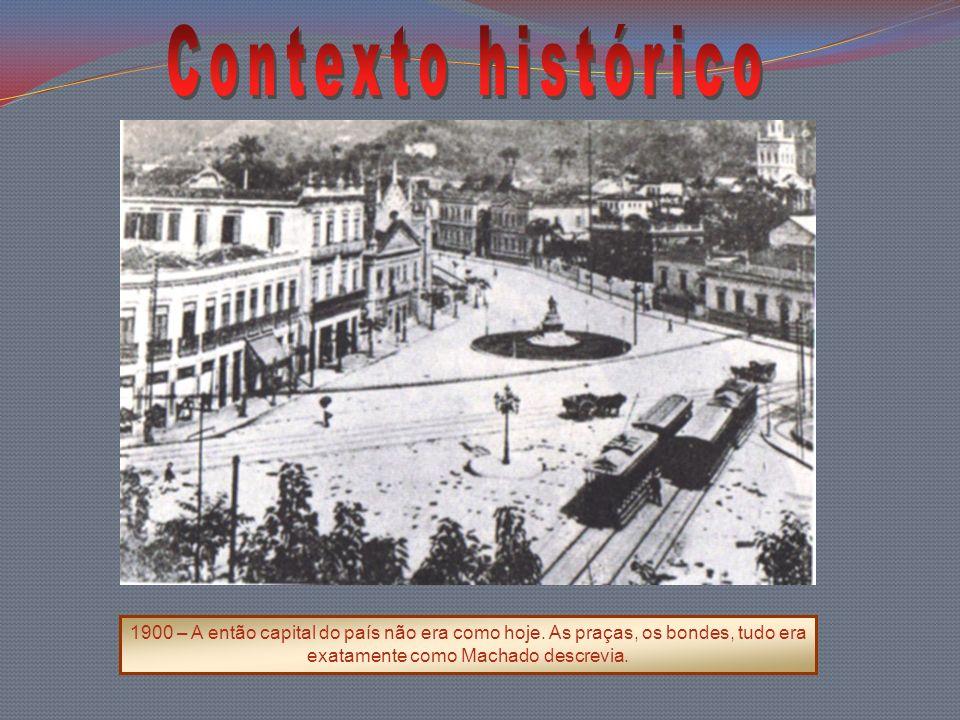 Contexto histórico 1900 – A então capital do país não era como hoje.