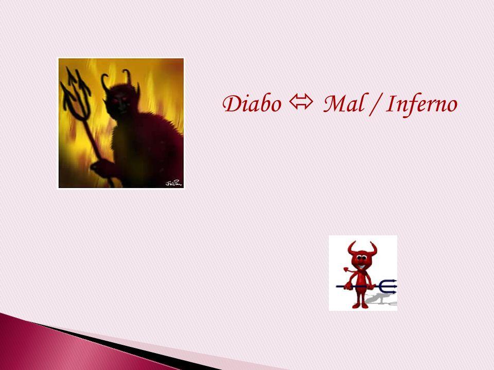 Diabo  Mal / Inferno Simpático Bom anfitrião Irônico Bem humorado