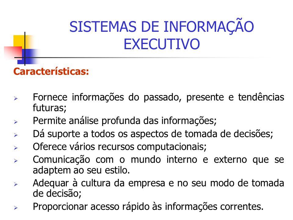 SISTEMAS DE INFORMAÇÃO EXECUTIVO