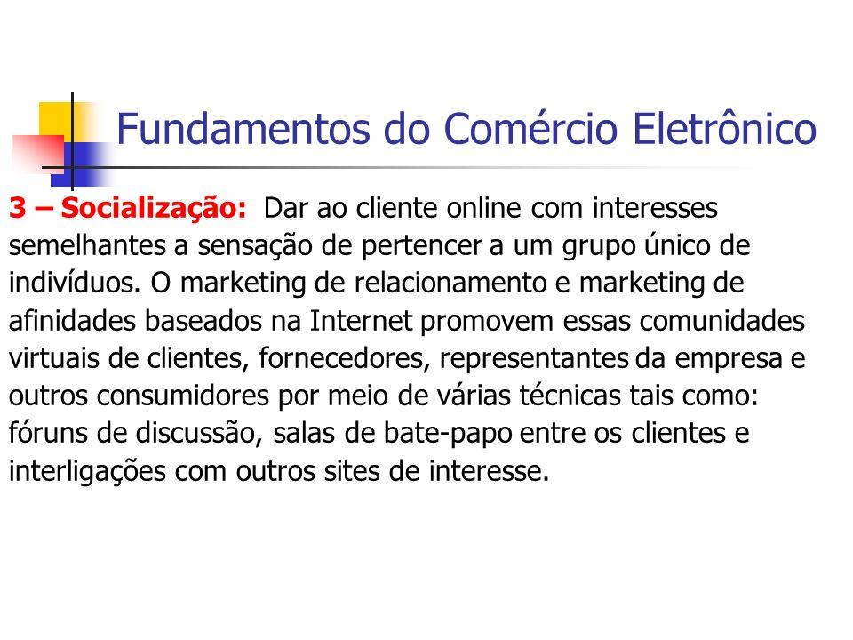 Fundamentos do Comércio Eletrônico