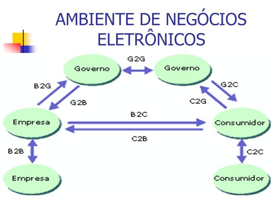 AMBIENTE DE NEGÓCIOS ELETRÔNICOS