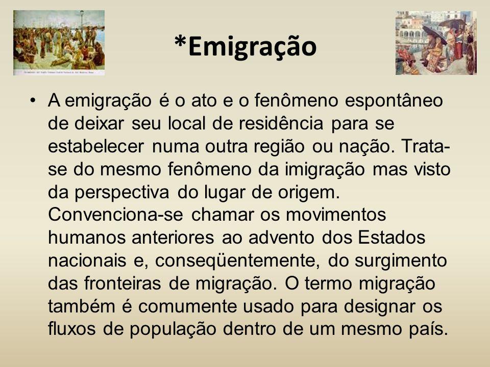 *Emigração