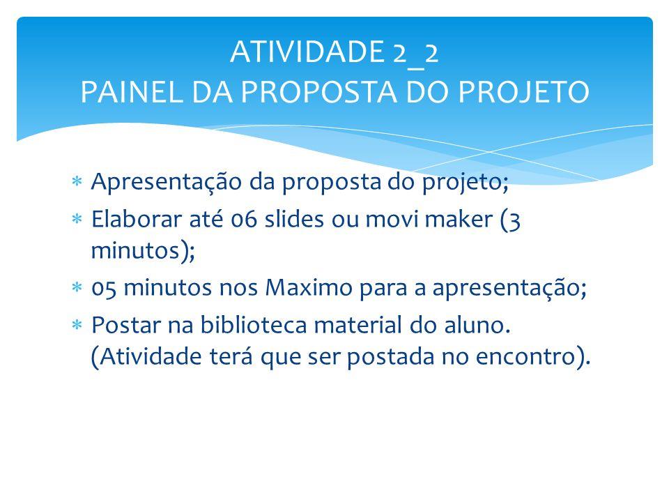 ATIVIDADE 2_2 PAINEL DA PROPOSTA DO PROJETO