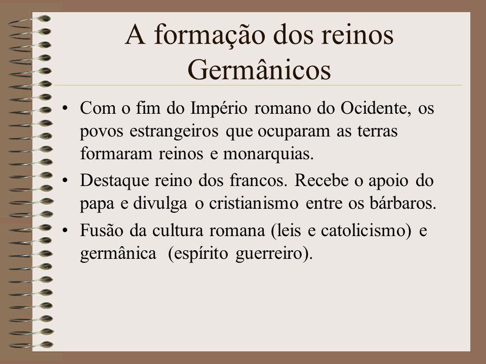 A formação dos reinos Germânicos