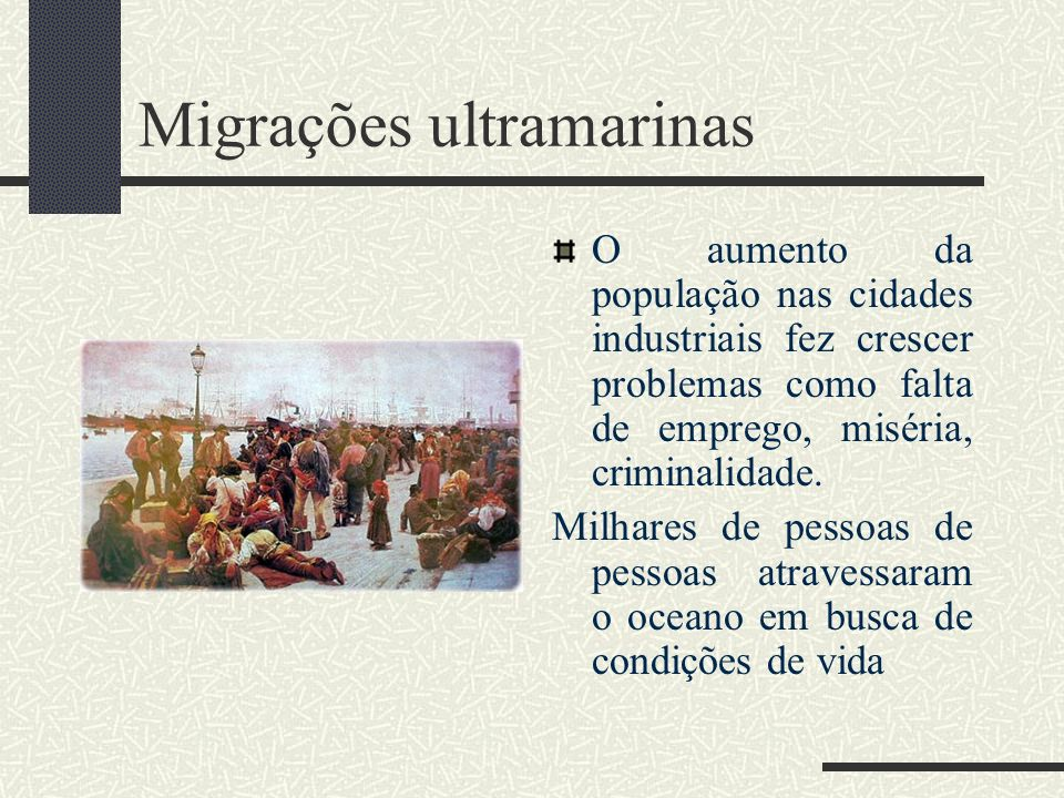 Migrações ultramarinas