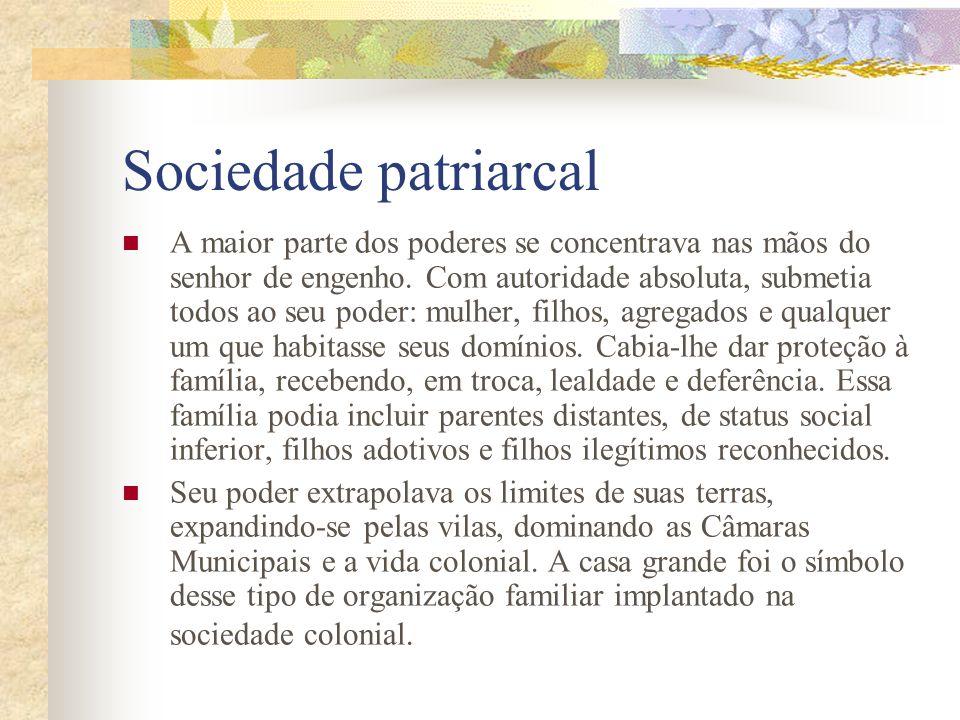 Sociedade patriarcal