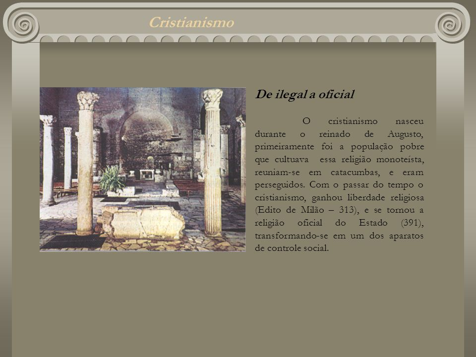 Cristianismo De ilegal a oficial