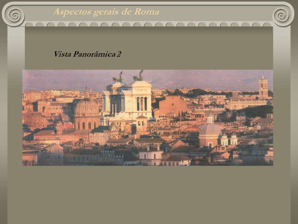 Aspectos gerais de Roma