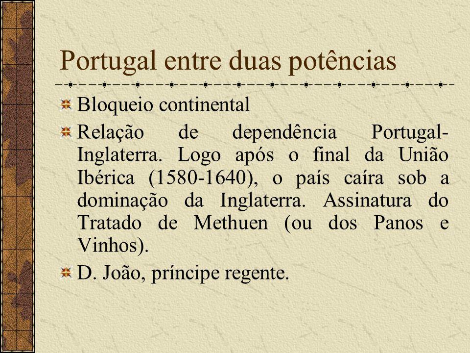 Portugal entre duas potências