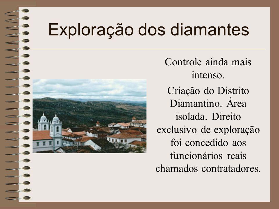 Exploração dos diamantes