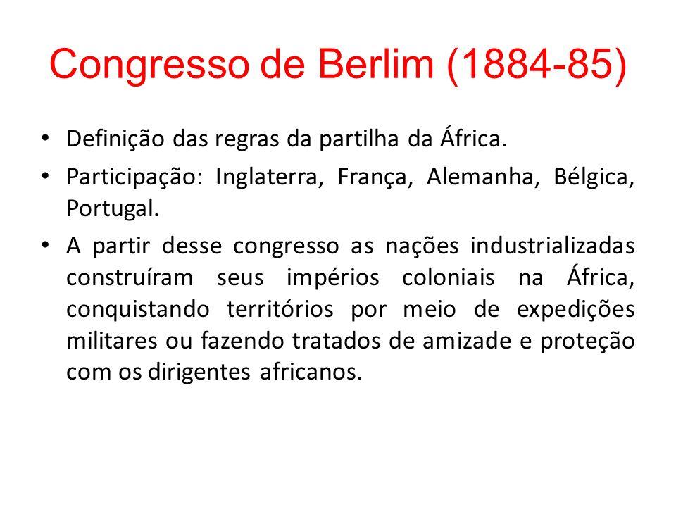 Congresso de Berlim (1884-85)