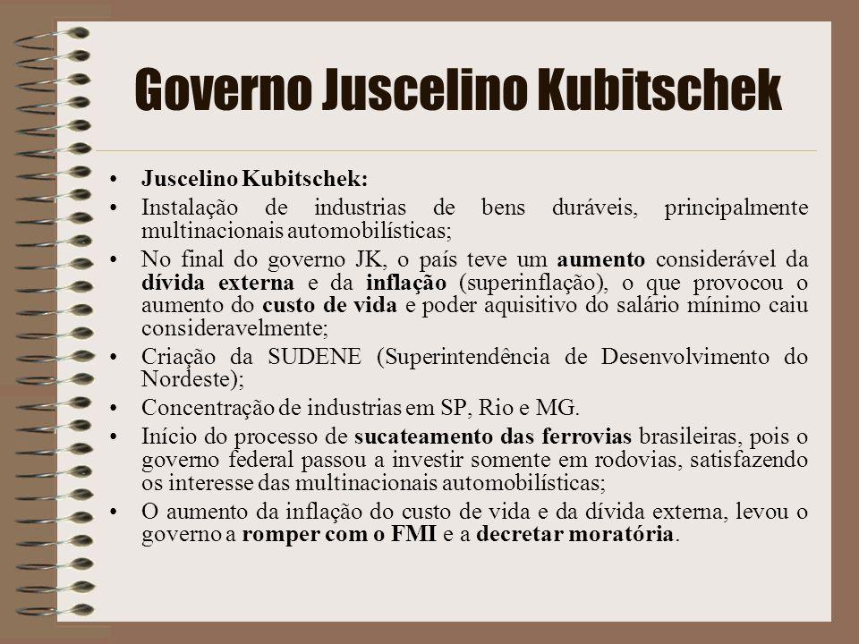Governo Juscelino Kubitschek