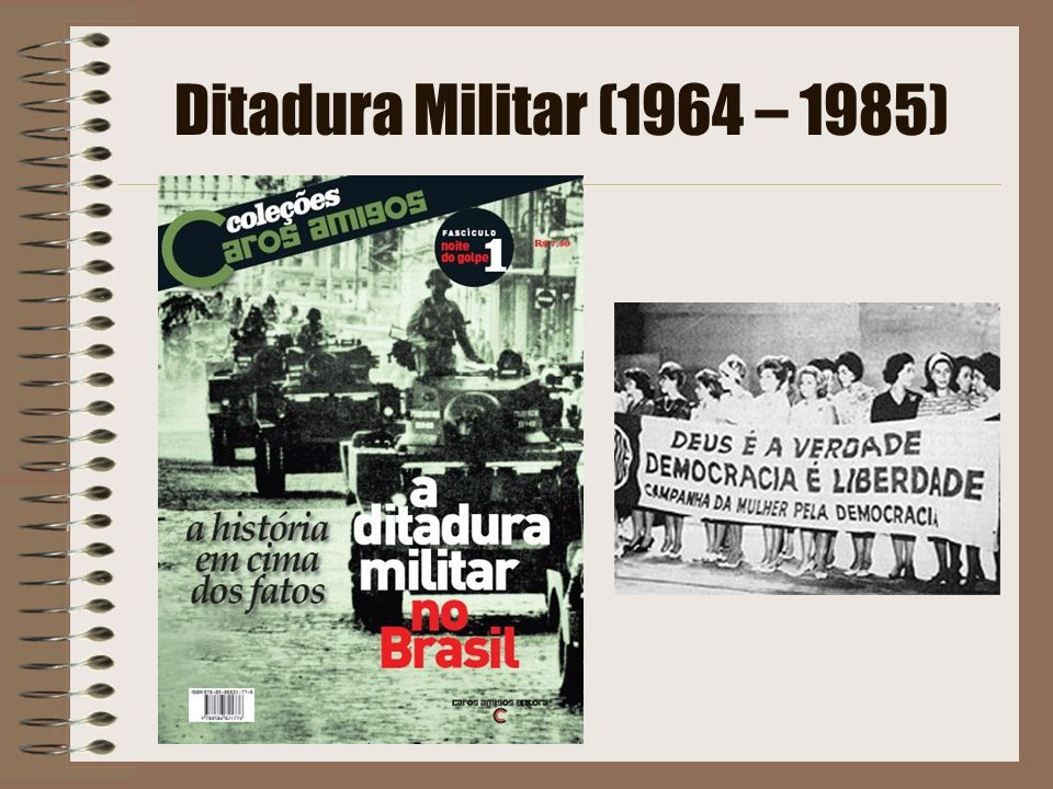 Ditadura Militar (1964 – 1985)