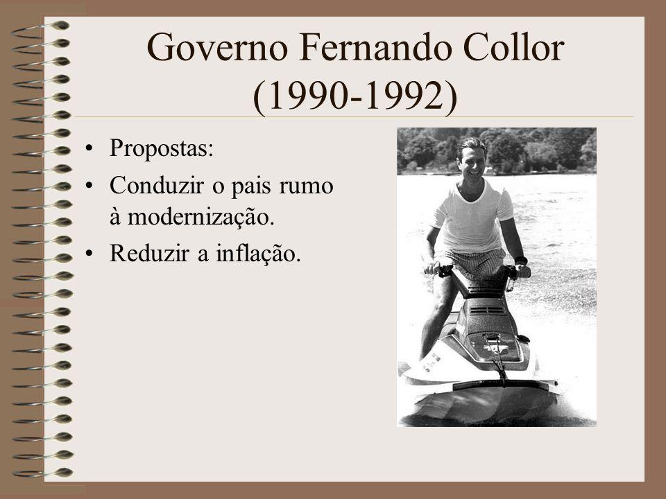 Governo Fernando Collor (1990-1992)