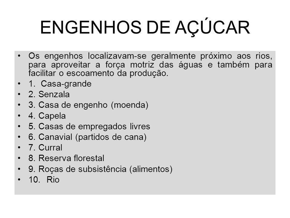 ENGENHOS DE AÇÚCAR