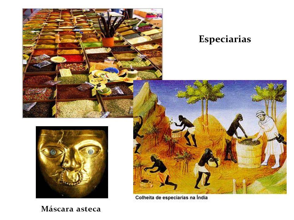 Especiarias Máscara asteca