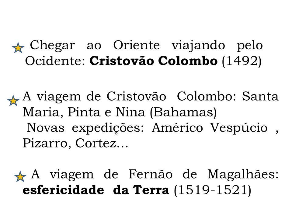 A viagem de Cristovão Colombo: Santa Maria, Pinta e Nina (Bahamas)